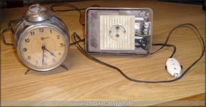 Erster Radiowecker der DDR